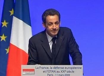 президент Николя Саркози. Фото NTDTV