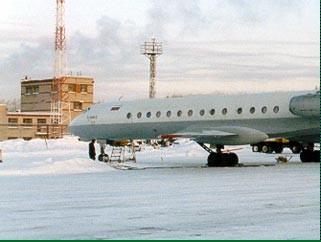 В Перми пассажирский Boeing при посадке выехал за пределы полосы. Фото с newsru.com
