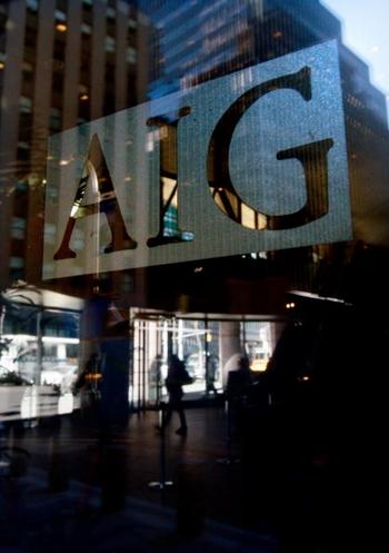 Одна крупнейшая в мире страховщик AIG. Фото: Getty Images