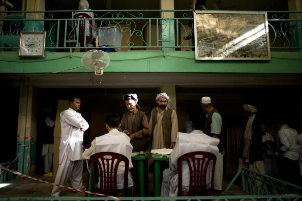 Выборы в  Афганистане, все-таки, состоялись. Фото: Daniel Berehulak/Getty Images