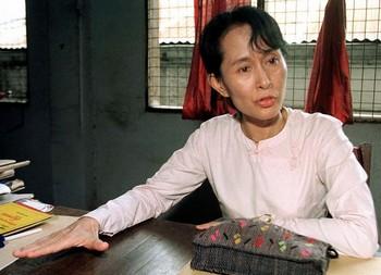 Аун Сан Су Чжи, лидер национального движения за демократию Мьянме. Фото: Getty Images