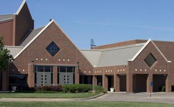 Лютеранская церковь, в которой произошло убийство. Фото: Kelly Glasscock/Getty Images