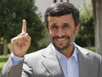 Фото: Президент Ирана Махмуд Ахмадинежад.BEHROUZ MEHRI/AFP