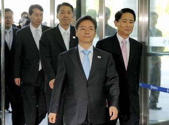 Директор промышленного комплекса Ким Юн-Так. Фото: JUNG YEON-JE/AFP/Getty Images