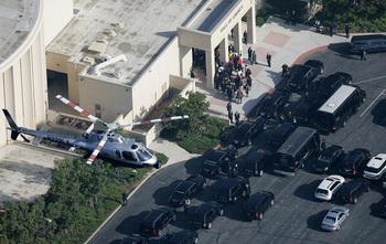 Фото: похороны певца, прошедшие 7 июля в Лос-Анджелесе. Аndy Huffaker/Getty Images Entertainment
