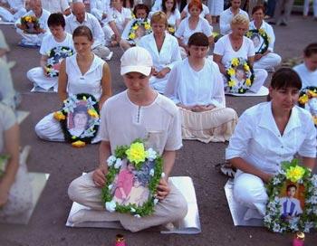 Вечер памяти погибших последователей Фалуньгун от репрессий, санкционированных правящей в Китае компартией. Фото: Ирина Рудская/The Epoch Times