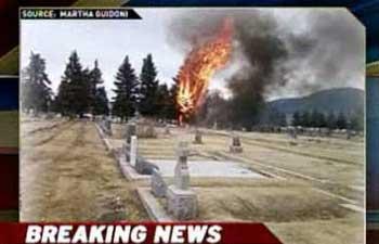 Фото из телепередачи США
