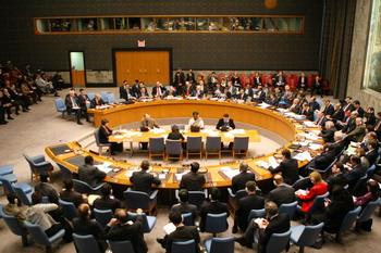 Совет Безопасности ООН на встрече 18 февраля 2008г. Фото: Daniel Barry/Getty Images