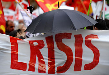 Массовая акция протеста прошла в Лондоне. Фото: PEDRO ARMESTRE/AFP/Getty Images