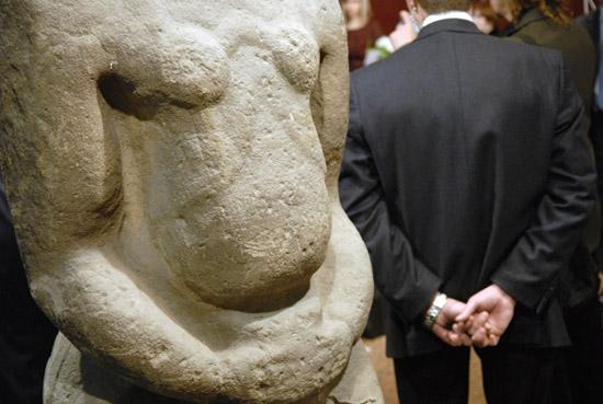 В Киеве в Украинском Доме открыли скульптурный салон. Фото: Владимир Бородин/Великая Эпоха