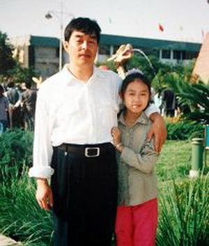 У Ян с дочкой