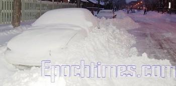 В этом году в Китае отмечается повышенная снежная активность. Фото: The Epoch Times
