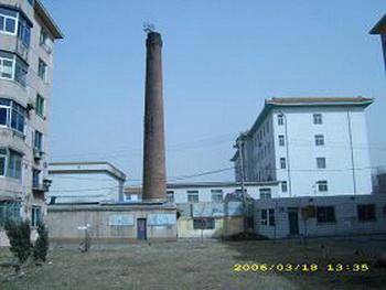 Котельная Центра интегрированной  китайской и западной медицины лечения тромбоза Ляонин. Фото: с minghui.org