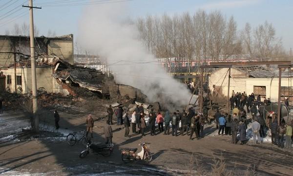 Фото с места событий. Угольная шахта города Хэган провинции Хэйлунцзян. Фото с epochtimes.com