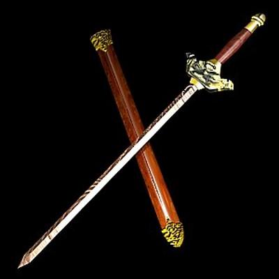 Узорчатый меч. Изготовлен из калёного металла. Фото с aboluowang.com