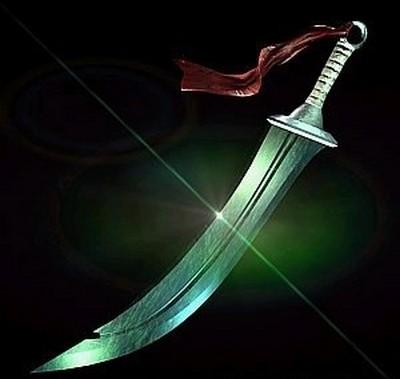 Меч «Зелёный дракон». Фото с aboluowang.com