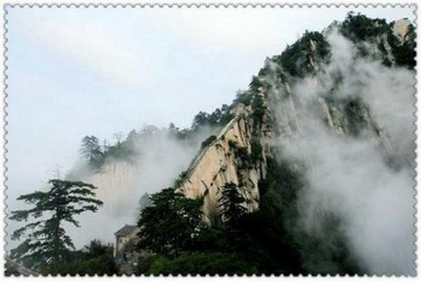 Горы Хуашань. Фото с secretchina.com