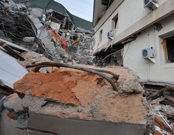 Землетрясение силой 5 балла произошло в провинции Юньнань. 2 ноября 2009 год. Фото: BAY ISMOYO/AFP/Getty Images
