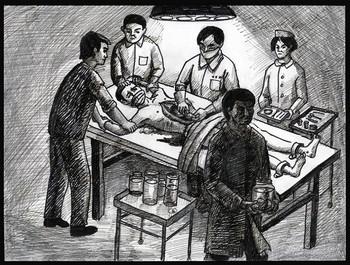 в Китае по приказу властей у живых людей без наркоза вырезают органы. Фото: Великая Эпоха (The Epoch Times)
