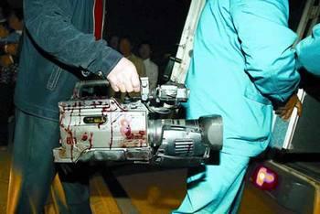 Китайские корреспонденты часто подвергаются избиениям во время выполнения своей работы. Фото с epochtimes.com