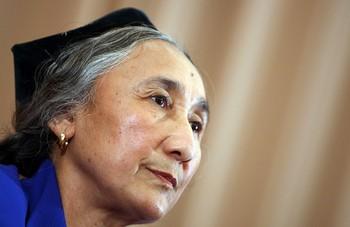 Лидер уйгур Рабия Кадыр. Фото: Getty Images