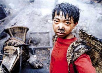 Рабочие китайских угольных шахт. Фото с epochtimes.com