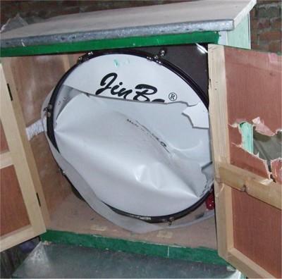 Полицейские устроили в помещениях погром и избили верующих. Фото с epochtimes.com