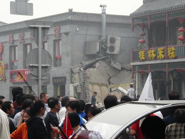 В Пекине взорвался ресторан. Фото с epochtimes.com