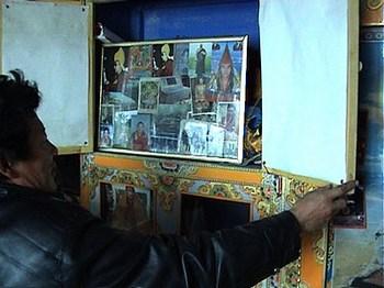 Тайный алтарь в Тибете. Кадр из фильма «Оставляя позади страх». Фото:leavingfearbehind.com