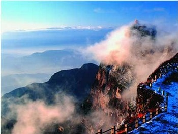 Горы Эмэй. Фото с zhengjian.org
