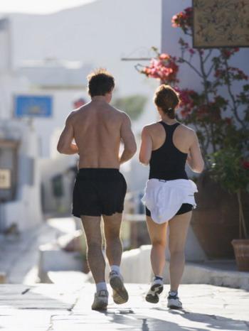Здоровый образ жизни снова в моде. Бег. Фото: Mark Andersen/Getty Images