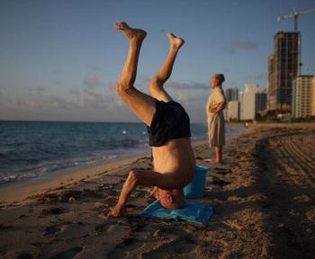 Вариант американской зарядки. Майами. Флорида. Фото: Joe Raedle/Getty Images News