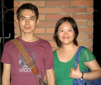 Ян Цинхуа и Сюй Минвей, Тайбэй, Тайвань. Фото: Великая Эпоха