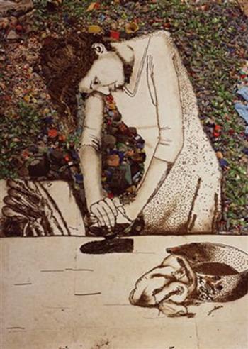 «Женщина которая гладит (Изида)», 2008 г., Вик Мюнис. Фото: С сайта 3rd.moscowbiennale.ru