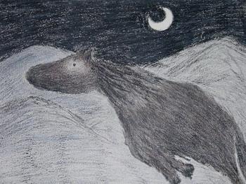 Картина  'Полет' Александра  Войцеховского. Фото: Великая Эпоха