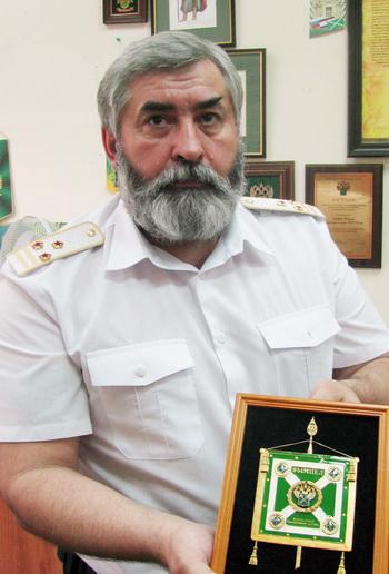 Андрей Котяев - Илья Муромец из… российской таможни. Фото: Николай ЗУЕВ