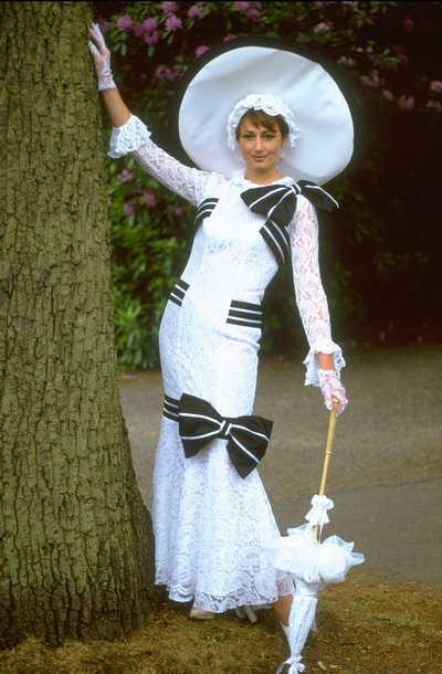 Одри Хепборн в ыфильме «Моя прекрасная леди». Фото: England.  Mandatory Credit: Stu Forster/Allsport