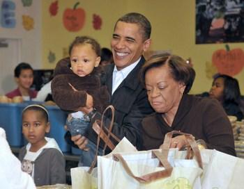 Обама появился на своей первой