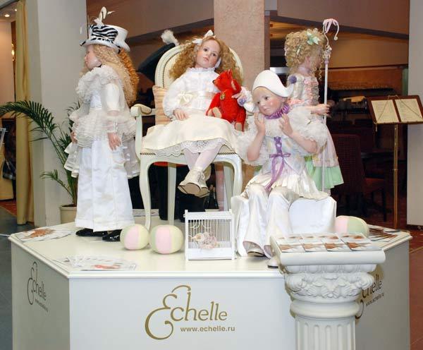 Куклы всемирно известной кукольницы из Германии Хильдегард Гюнцель. Фото: Юлия Цигун/Великая Эпоха