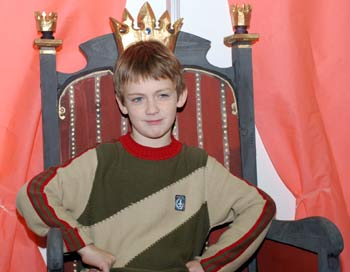 В образе принца. Фото: Юлия Цигун/Великая Эпоха