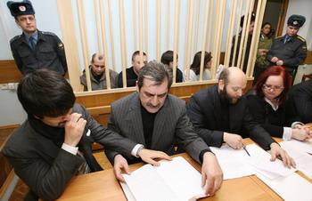 Суд присяжных. Фото: Alexey SAZONOV/AFP/Getty Images