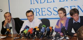 Пресс-конференция посвященную Дню памяти Анны Политковской. Фото: Ульяна КИМ.