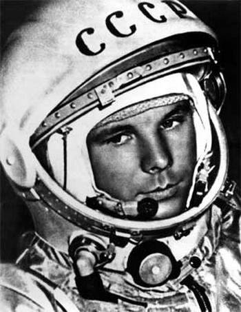 Ю.А.Гагарин. Фото с сайта All-photo.ru