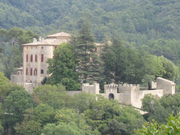 Замок-музей художника Пикассо (Chateau de Picasso, Vauvenargues). Фото: Ирина Лаврентьева/Великая Эпоха