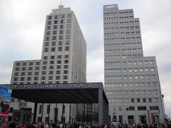 Потсдамская площадь (нем. Potsdamer Platz). Фото: Ирина Лаврентьева/Великая Эпоха