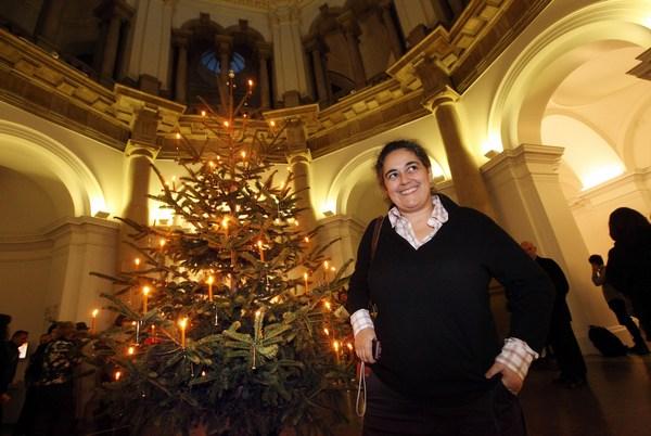 Самые высокие и красивые елки в мире, в Англии, Лондон Фото: Oli Scarff/Getty Images