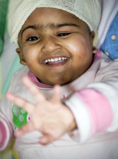 Девочка Кришна в мае 2009 года. Фото: The Royal Childrens Hospital Melbourne via Getty Images