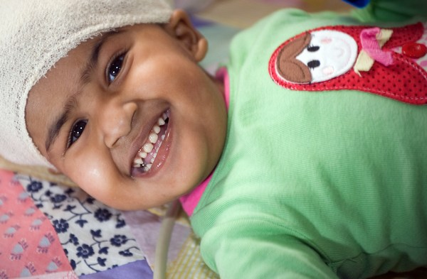 Девочка Тришна в мае 2009 года. Фото: The Royal Childrens Hospital Melbourne via Getty Images