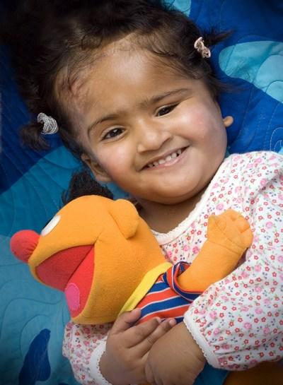 Девочка Кришна в августе 2009 года. Фото: The Royal Childrens Hospital Melbourne via Getty Images