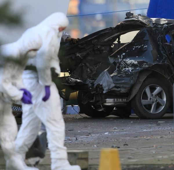 Крупный теракт предотвращён в Белфасте. Фото: PETER MUHLY/AFP/Getty Images